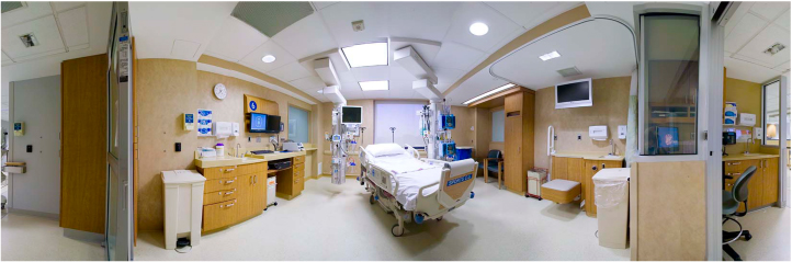 ICU 360 degree photo
